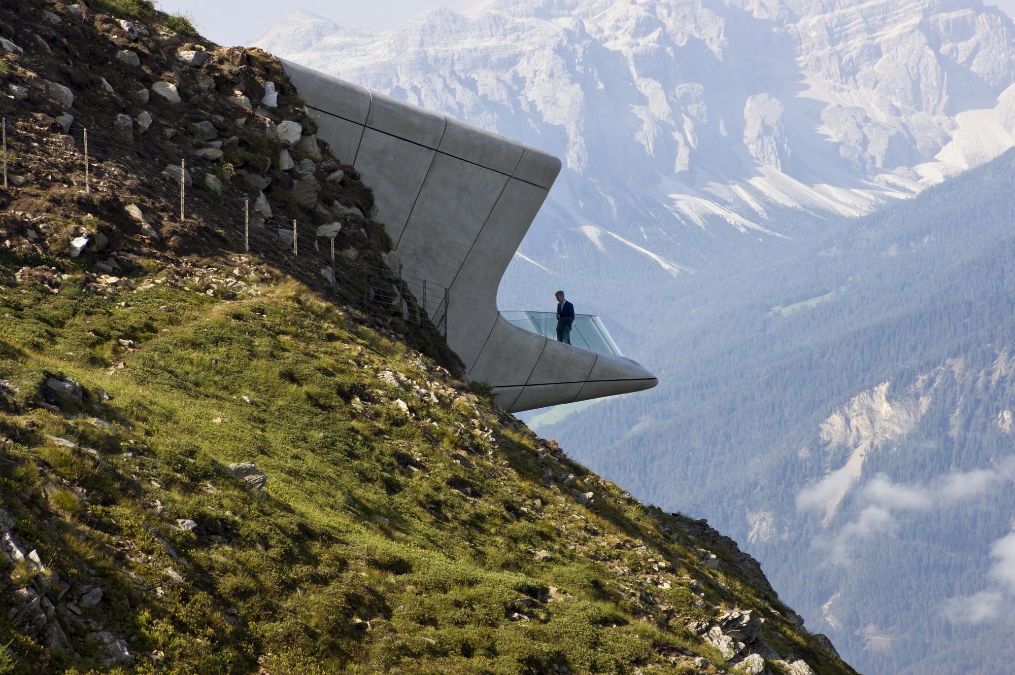 Messner Mountain Museum Corones / Zaha Hadid Architects