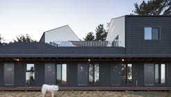 Casa de hóspedes Mungzip + Residência privada Padori / designband YOAP architects