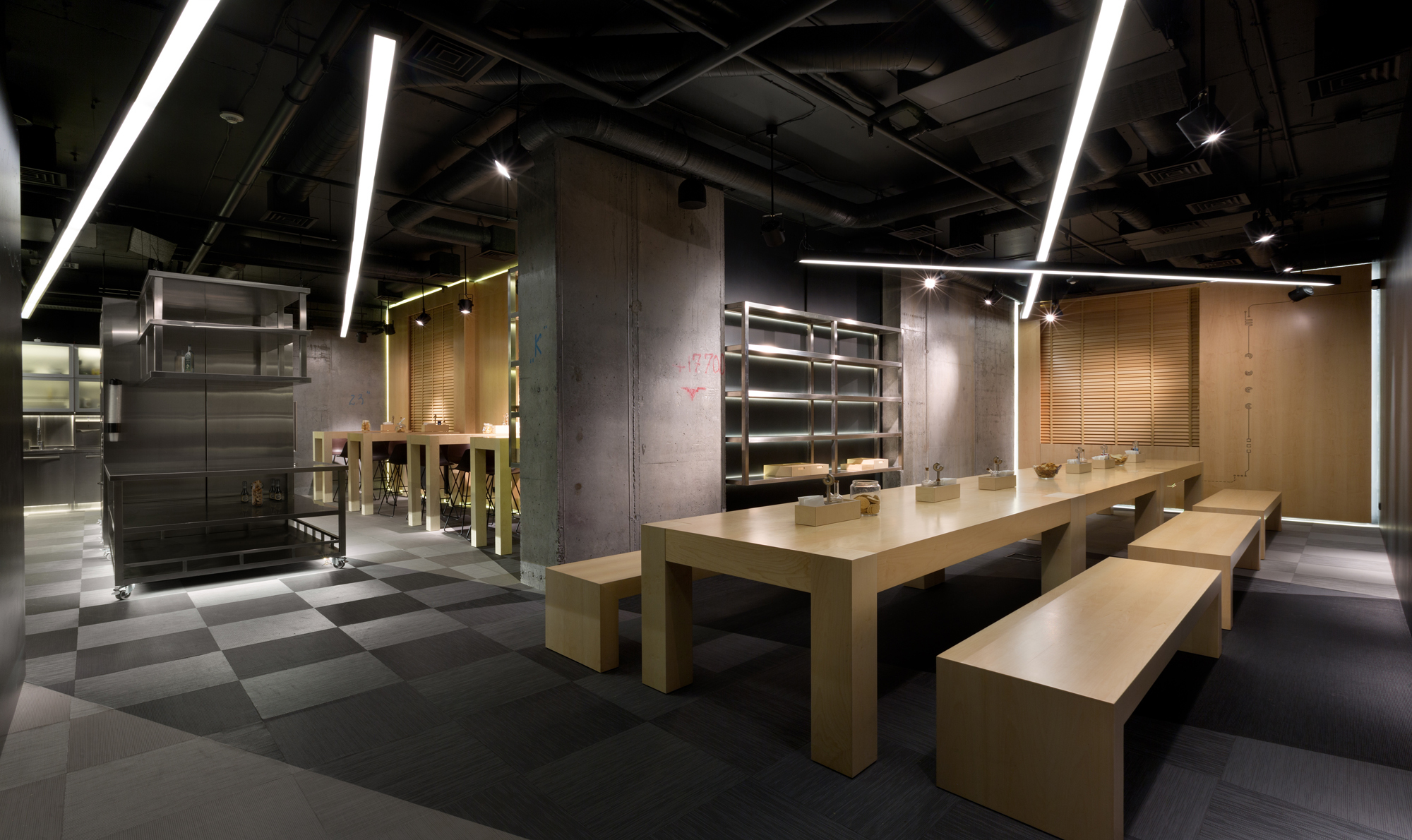 Office k2 baraban archdaily for Office design archdaily
