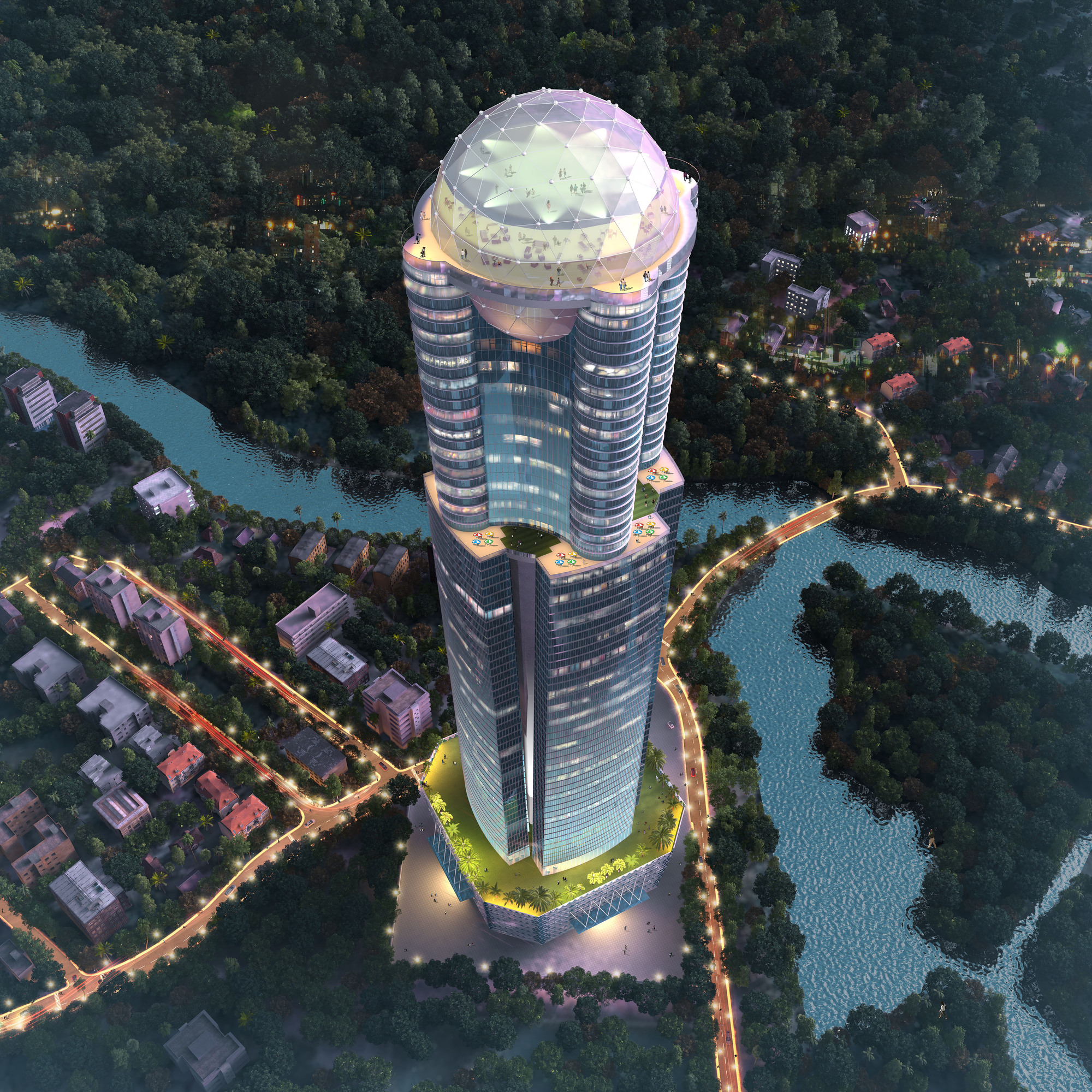 Sri lanka s tallest tower to honor its 1996 world cup for Coolest images in the world