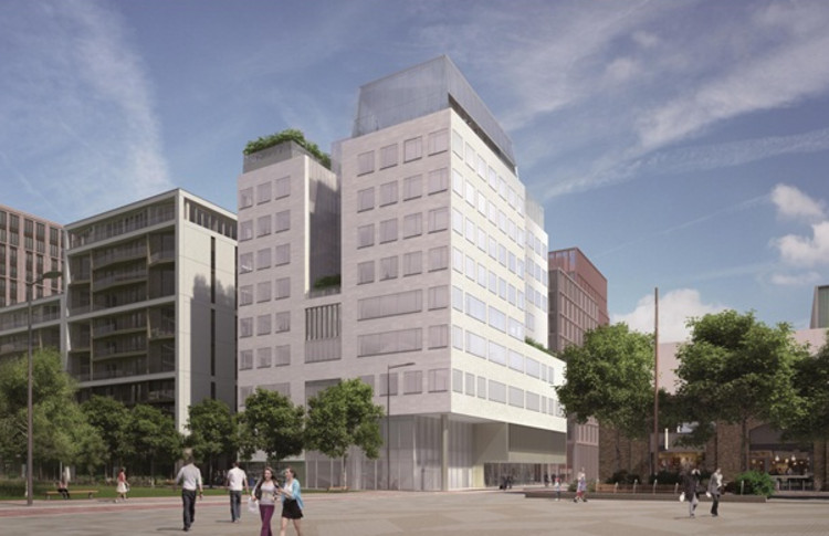 Maki to Make UK Debut with New Building for Aga Khan Development Network, © Maki and Associates via AJ