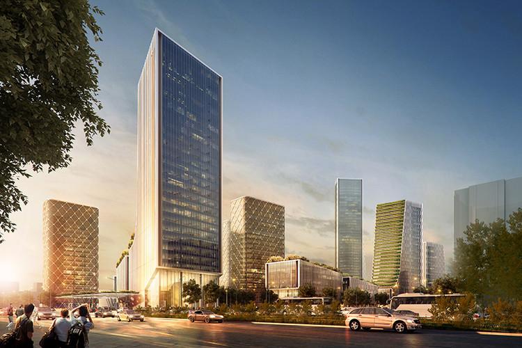 Ennead Unveils Plans for Shanghai's Taopu Sci-Tech City, Northeast Corner. Image © Ennead Architects