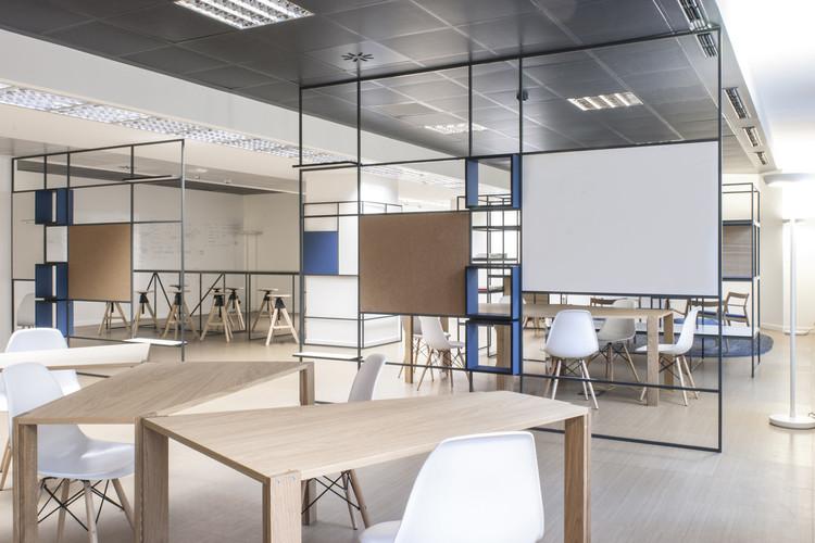 Digital Entity Workspace / deamicisarchitetti, © Gabriele Leo