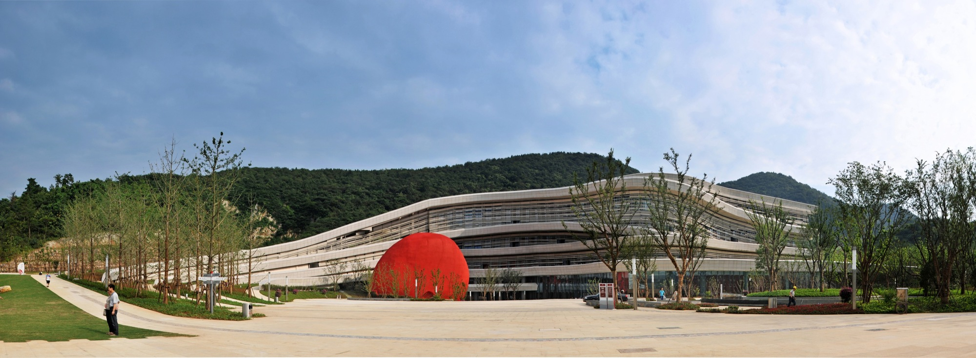 Gallery Of Fangshan Tangshan National Geopark Museum