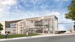 Gould Evans Designs DeBruce Center for the Original Rules of Basketball