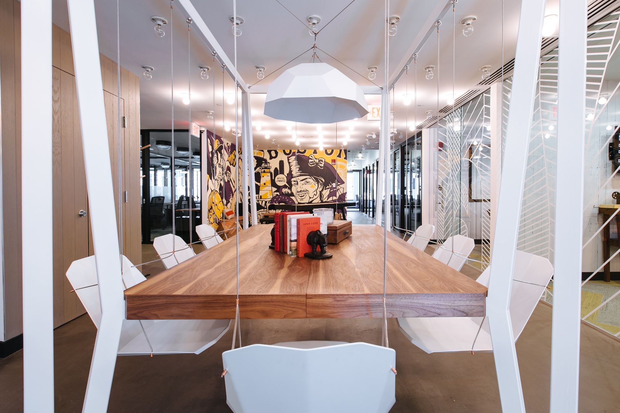 office spaces design. South Station Conference Room At WeWork\u0027s Offices In Boston. Image Courtesy Of WeWork Office Spaces Design