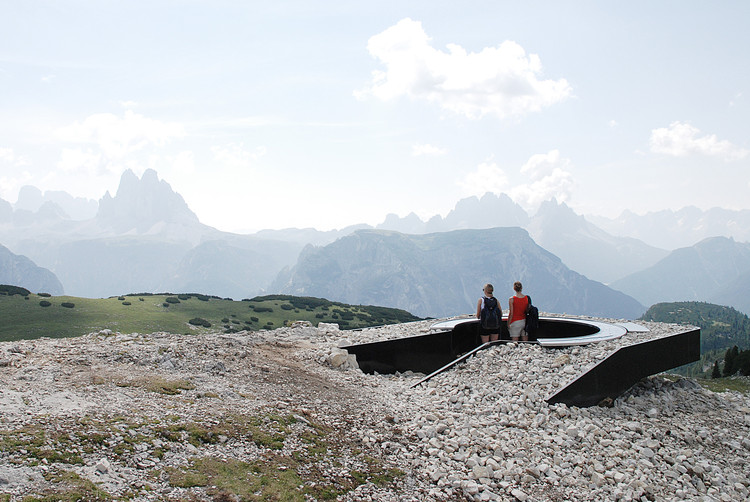Mirador Monte Specie 2305m s.n.m. / MESSNER Architects, Cortesía de MESSNER Architects