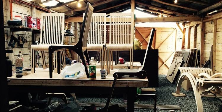 """Serie """"Costilla y Ensamble"""" de la colección Paut workshop / P&V Arquitectos, Taller. Image Cortesía de P&V Arquitectos"""