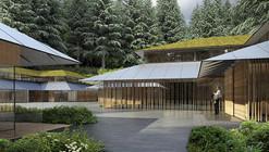 """Kengo Kuma diseña """"Villa Cultural"""" para el jardín japonés de Portland"""