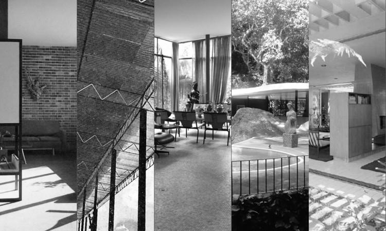 Clássicos da Arquitetura: Cinco Casas dos anos 50