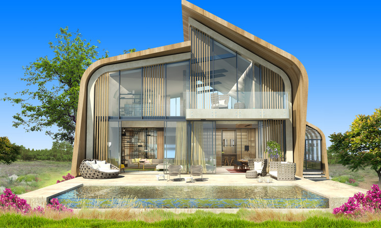 GAD Architecture's AHK Kundu Villas Shortlisted for WAF, Courtesy of GAD Architecture