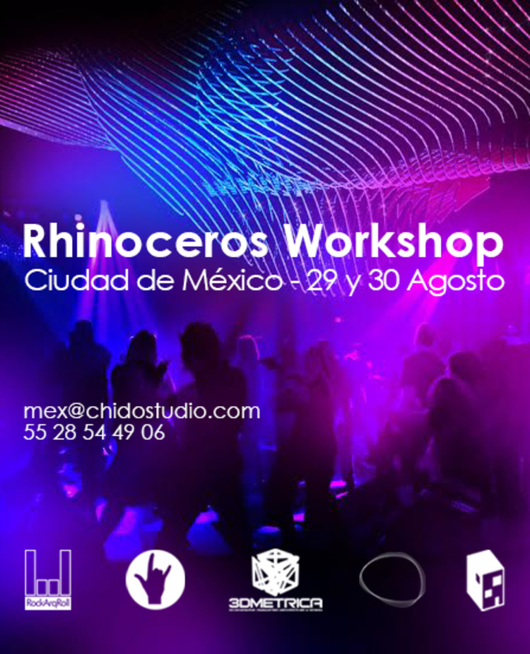 Rhinoceros Workshop por Chido Studio / Ciudad de México