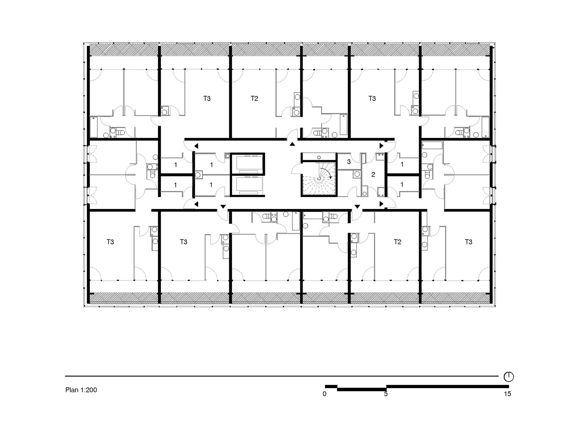 gallery of urban renovation lormont lan architecture 15