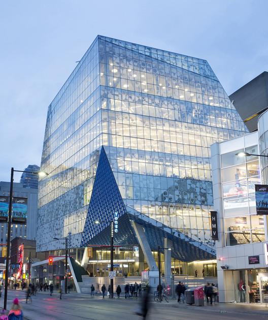 Centro de aprendizaje de estudiantes Universidad de Ryerson / Zeidler Partnership Architects + Snøhetta