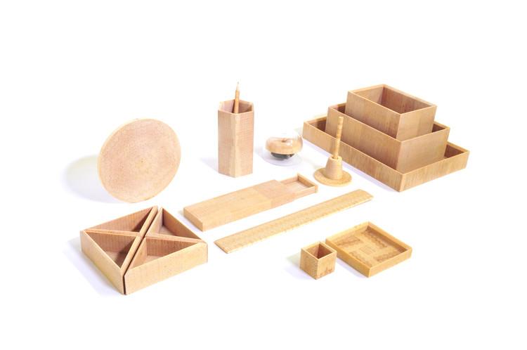 End Grain: objetos cotidianos de madera diseñados por Simin Qiu, Cortesía de Simin Qiu