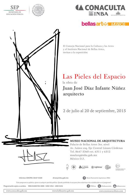 Exposición 'Las Pieles del Espacio' / Ciudad de México