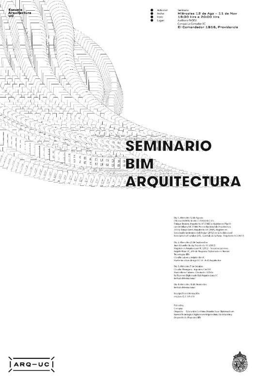 Seminario BIM, Escuela de Arquitectura UC