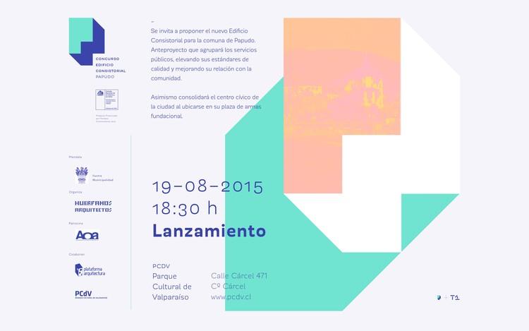 Lanzamiento del concurso nacional Edificio Consistorial Papudo / Valparaíso