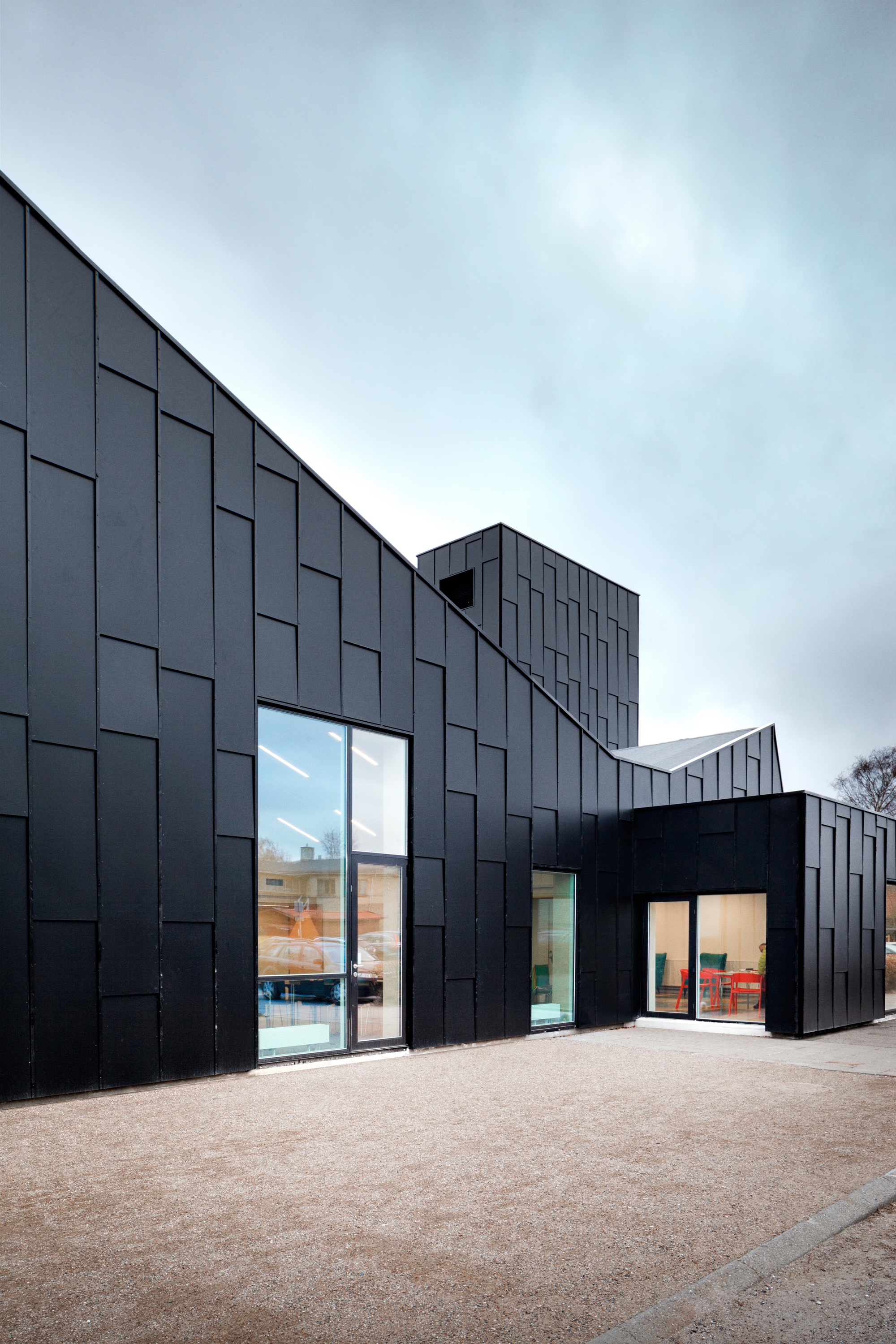Library And Culture Centre Primus Arkitekter Archdaily