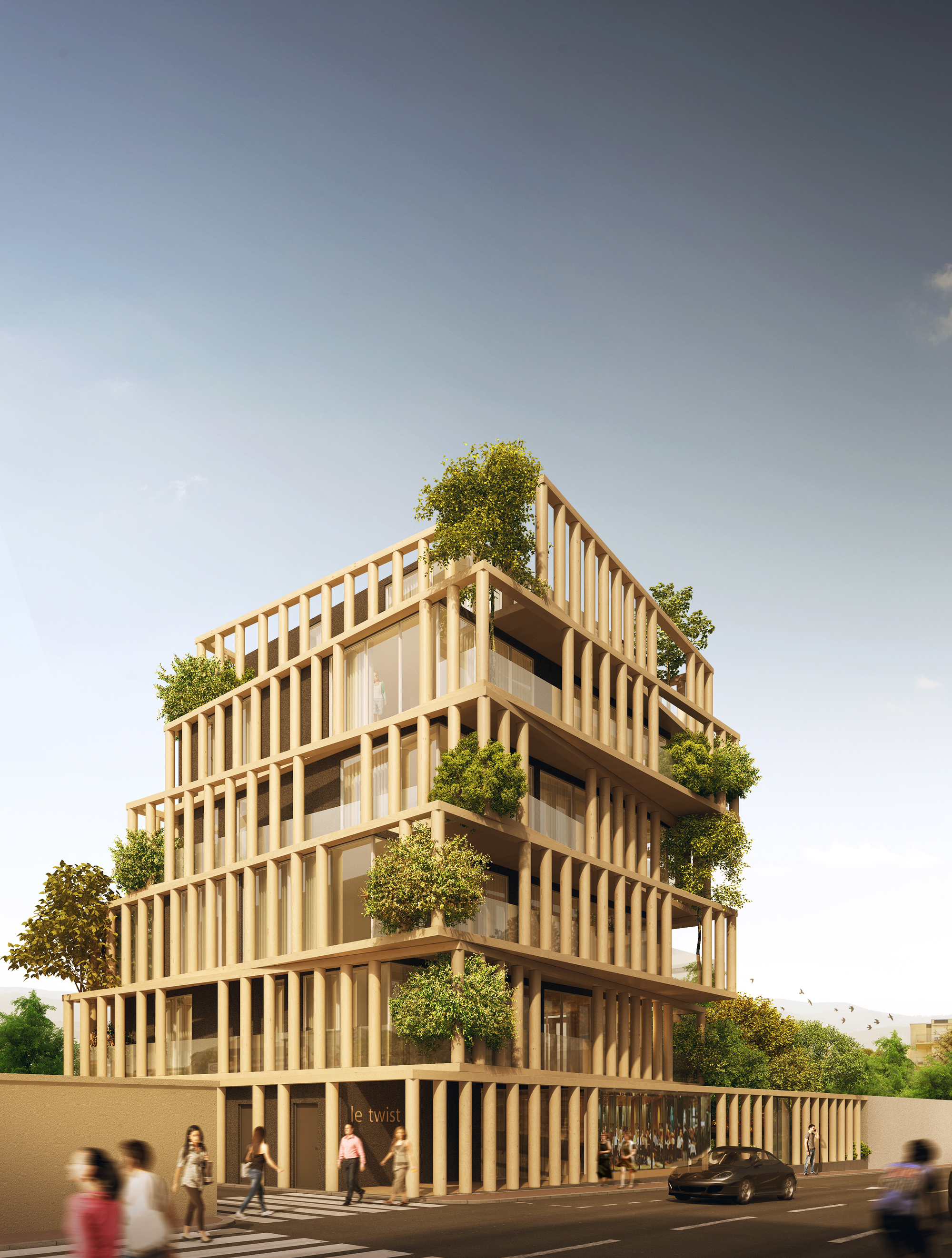 urban agencys luxury apartment design twists french planning law