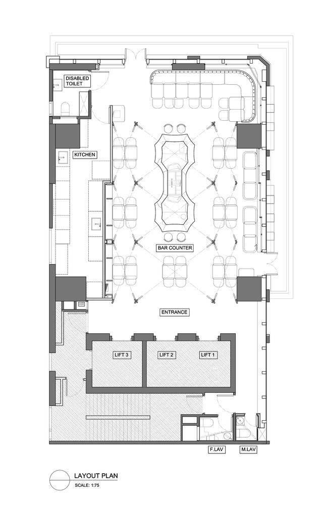 Charming Interior Layout Plan Part - 8: Castello 4,Layout Plan. Image Courtesy Of Millimeter Interior Design