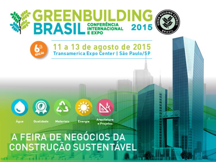 Água e eficiência energética serão os destaques da Greenbuilding Brasil 2015 entre 11 e 13 de agosto, em São Paulo, © Greenbuilding Brasil 2015