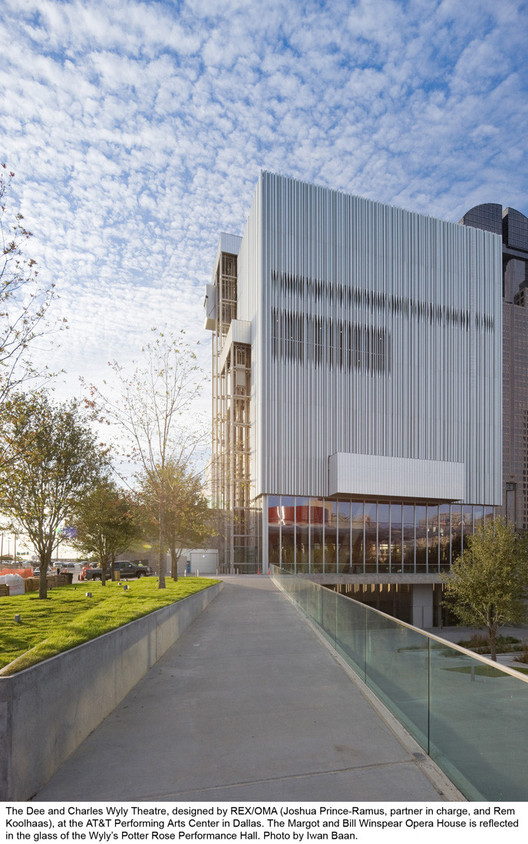 Dee and Charles Wyly Theatre. Image © Iwan Baan