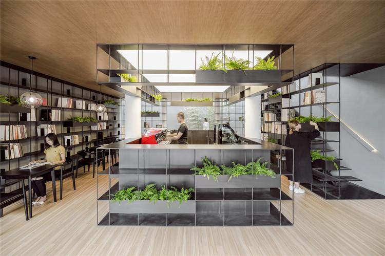 Rong Bao Zhai Coffee Bookstore / ARCHSTUDIO, © WANG Ning