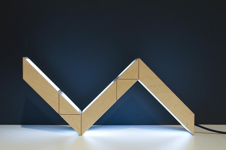Lámpara 5+5, versatilidad y transformación de espacios / Oikimus Design, Cortesía de Oikimus Design