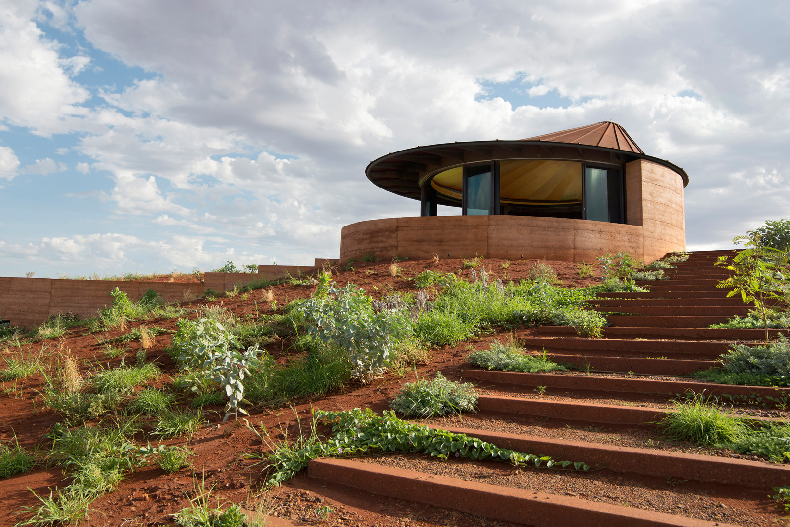 Earth Sheltered Homes Plans Gallery Of The Great Wall Of Wa Luigi Rosselli 2