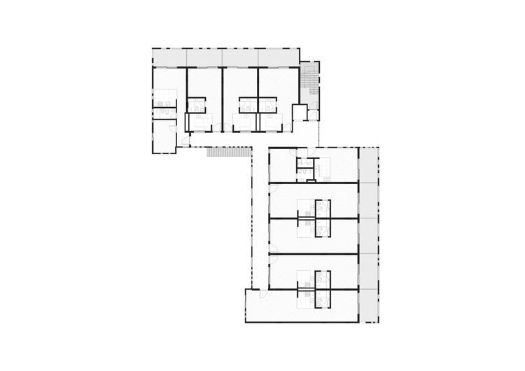 Edificio jacinto chiclana estudio camet archdaily per - Jacinto planta interior ...