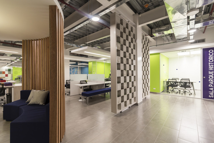 Oficinas telef nica contract workplaces archdaily m xico for Oficinas telefonica