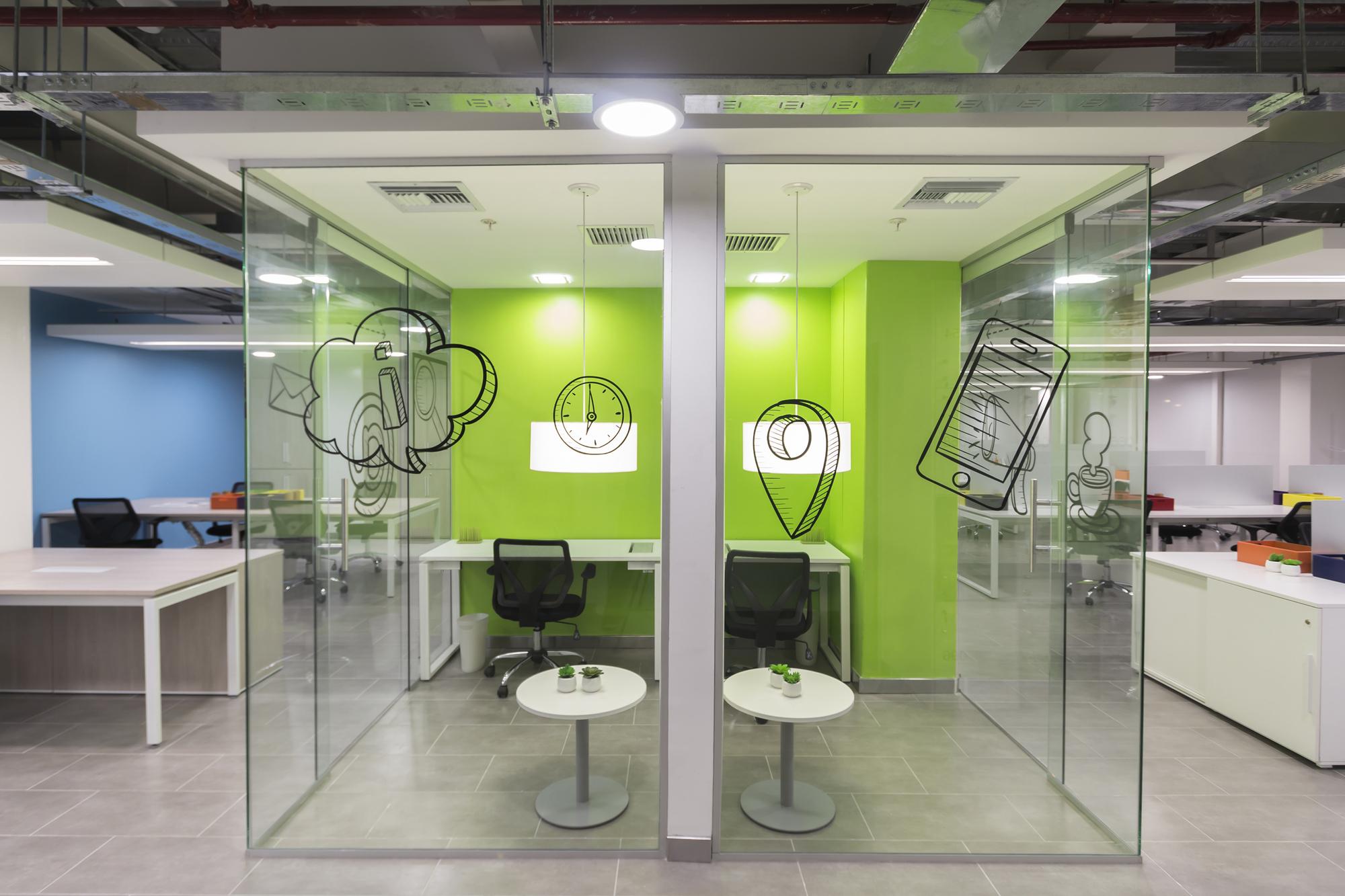 Galer a de oficinas telef nica contract workplaces 9 for Oficinas telefonica
