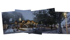 Cristián Ferrera Architecture y Homer García Santana conceptualizan cubierta paramétrica multipropósito