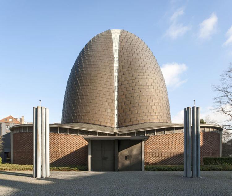 Exposição: Paul Schneider von Esleben – O legado do modernismo pós-guerra, Rochuskirche / Paul Schneider von Esleben. Imagem © Thomas Mayer