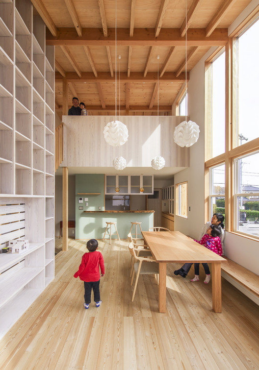 Renhouse / MTKarchitects, © Yuko Tada