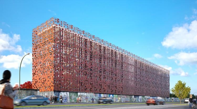 Babeliothèque: Reimagining the East Side Gallery in Berlin, Courtesy of Martin Sabadini, Escena3D Studio