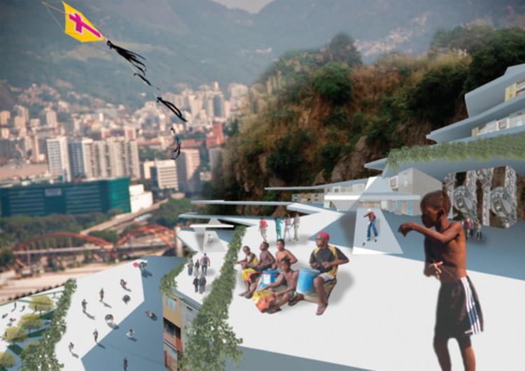 Rio Academy dilvuga os vencedores do concurso de ideias para o Rio de Janeiro, Projeto PLANO CIDADE [morro infraestrutural]. Image Cortesia de Fórum Rio Academy