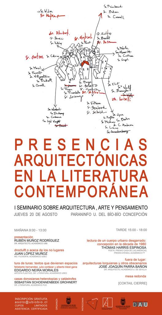 I Seminario sobre Arquitectura, Arte y Pensamiento / Concepción