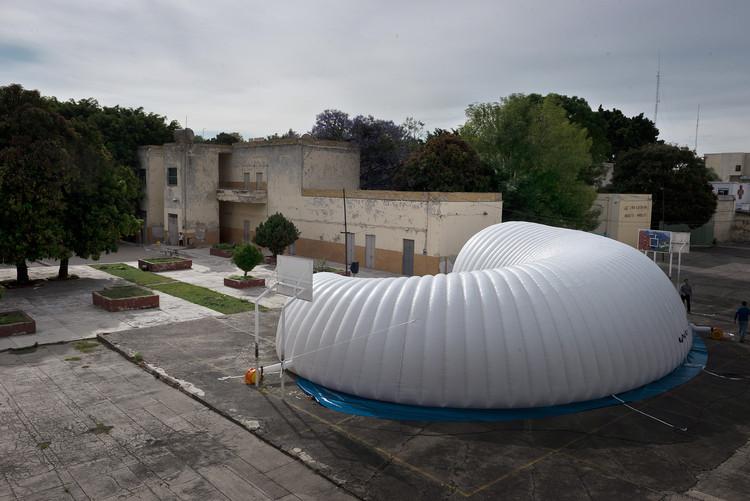 Arquitectura inflable: Museo Itinerante de los Guachimontones en Jalisco, México, © David Corona y Cintia Durán, (c) Estudio Pi S.C.