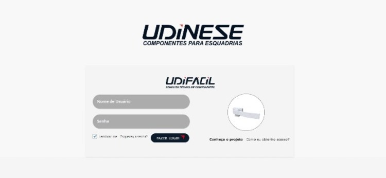 Nova ferramenta para Arquitetos e especificadores: Udifácil, © Udinese
