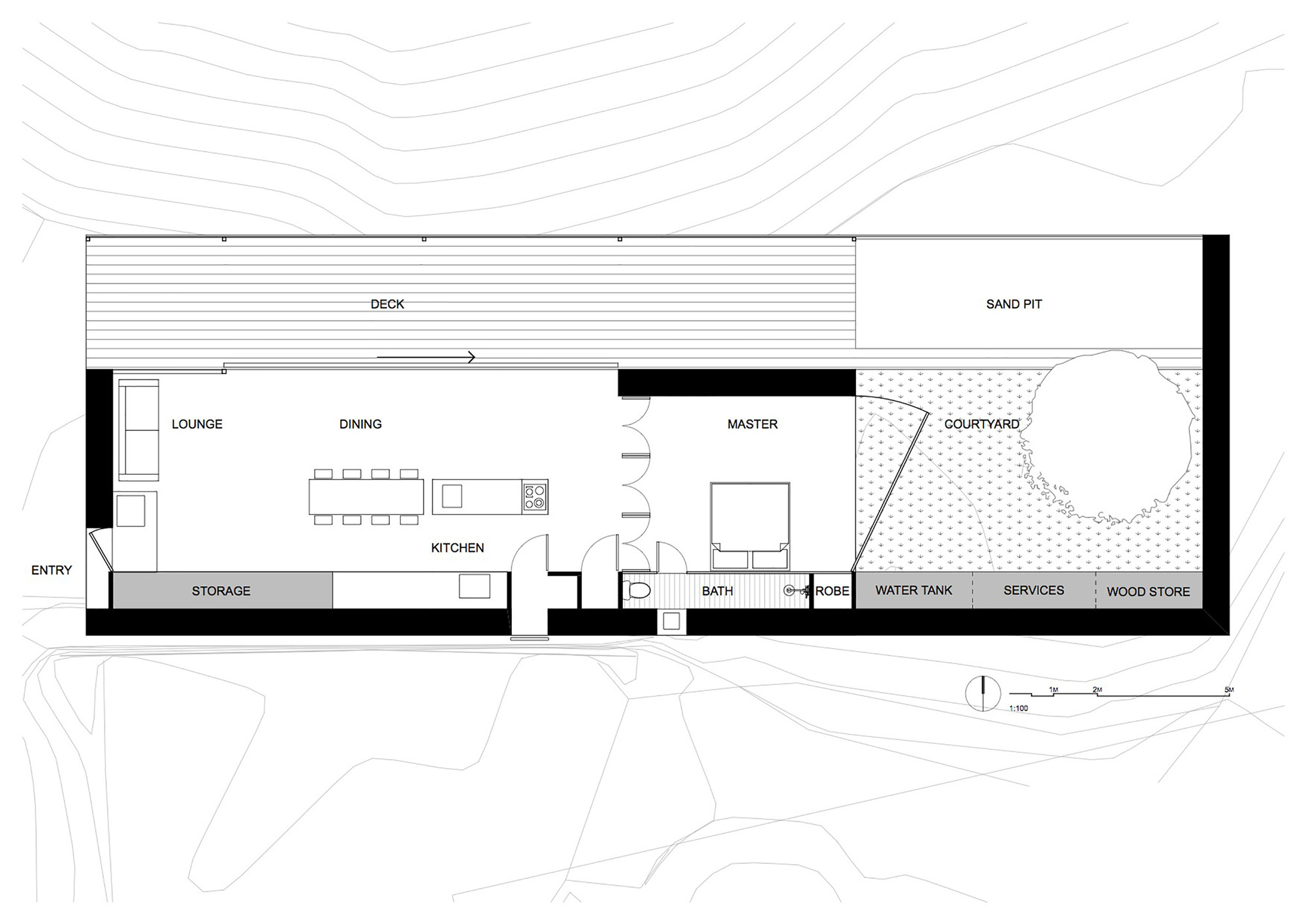 Balmoral Floor Plan Galer 237 A De Casa Aserradero Archier Studio 32