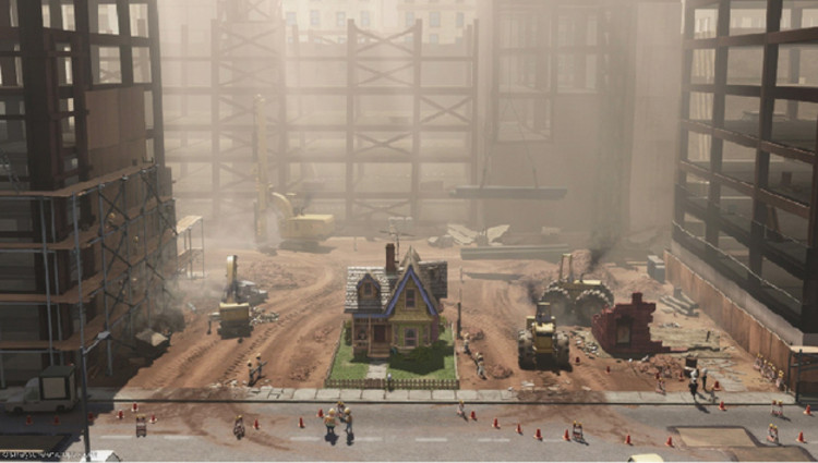 4 lecciones que Pixar puede enseñarnos sobre la arquitectura, © Pixar
