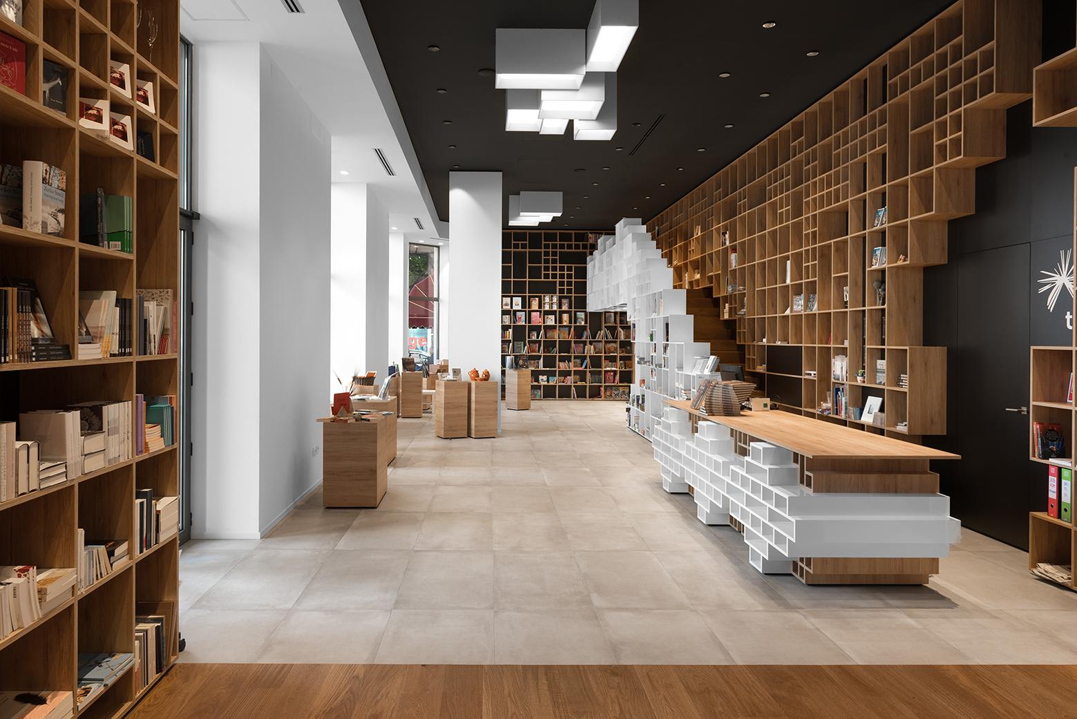 Slovenian Book Center In Trieste Sono Arhitekti Archdaily
