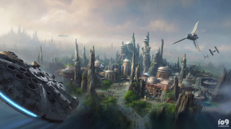 Walt Disney to Bring Star Wars to Life, © Walt Disney Company via io9