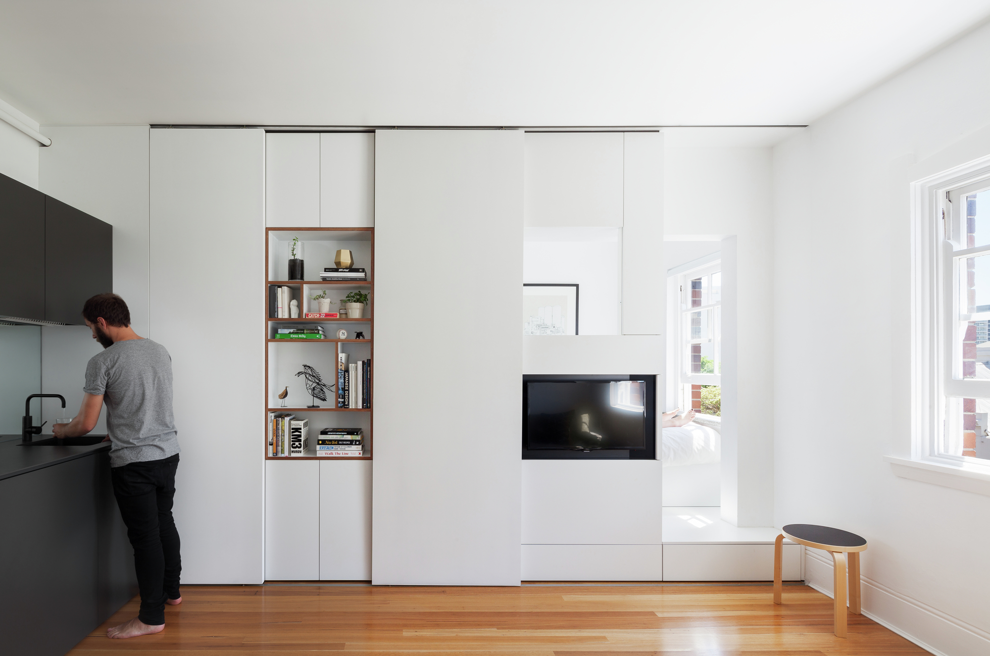 Darlinghurst apartment brad swartz architect archdaily for Appartamenti di design