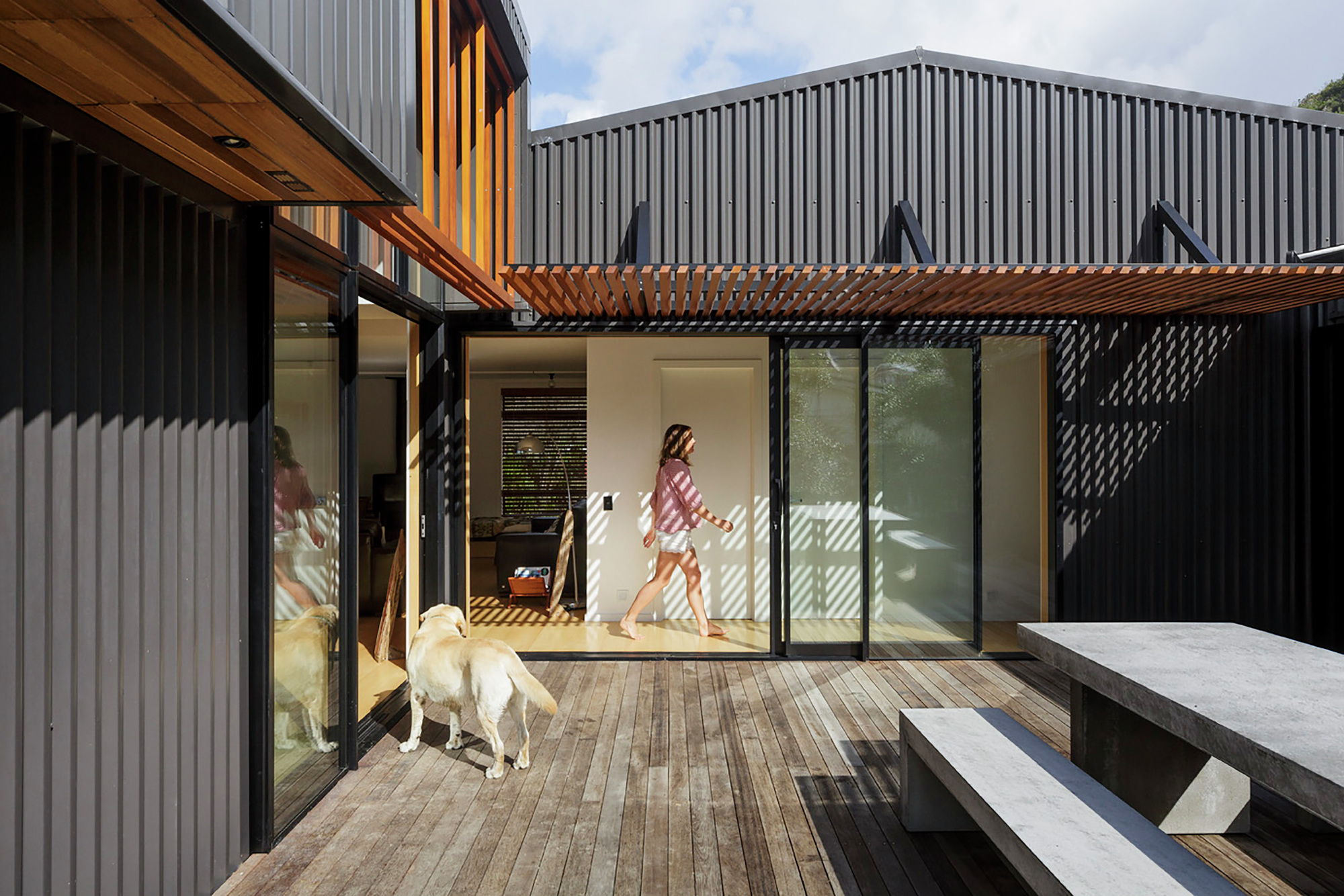 Gallery Of Offset Shed House Irving Smith Jack