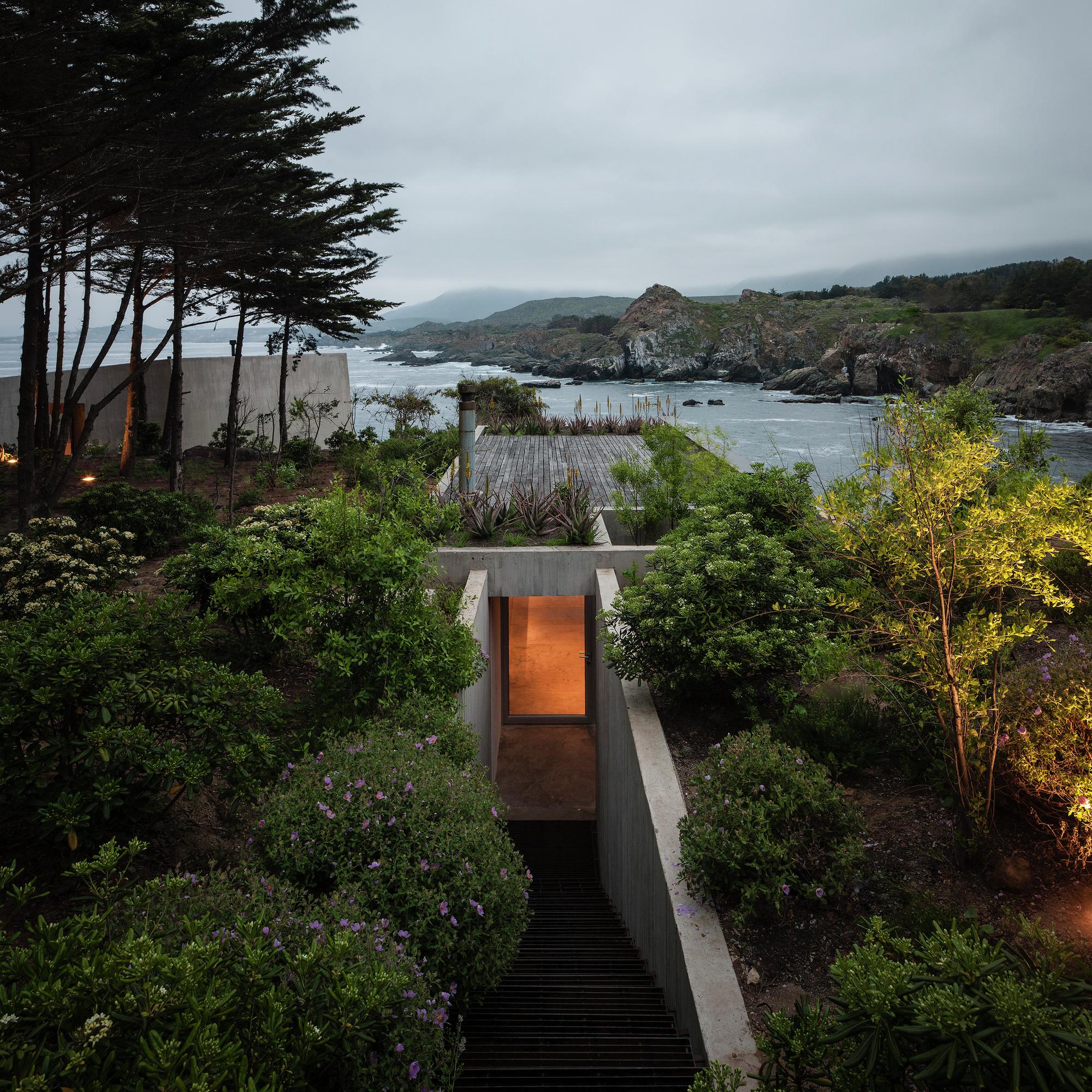 Flat Roof Modern House
