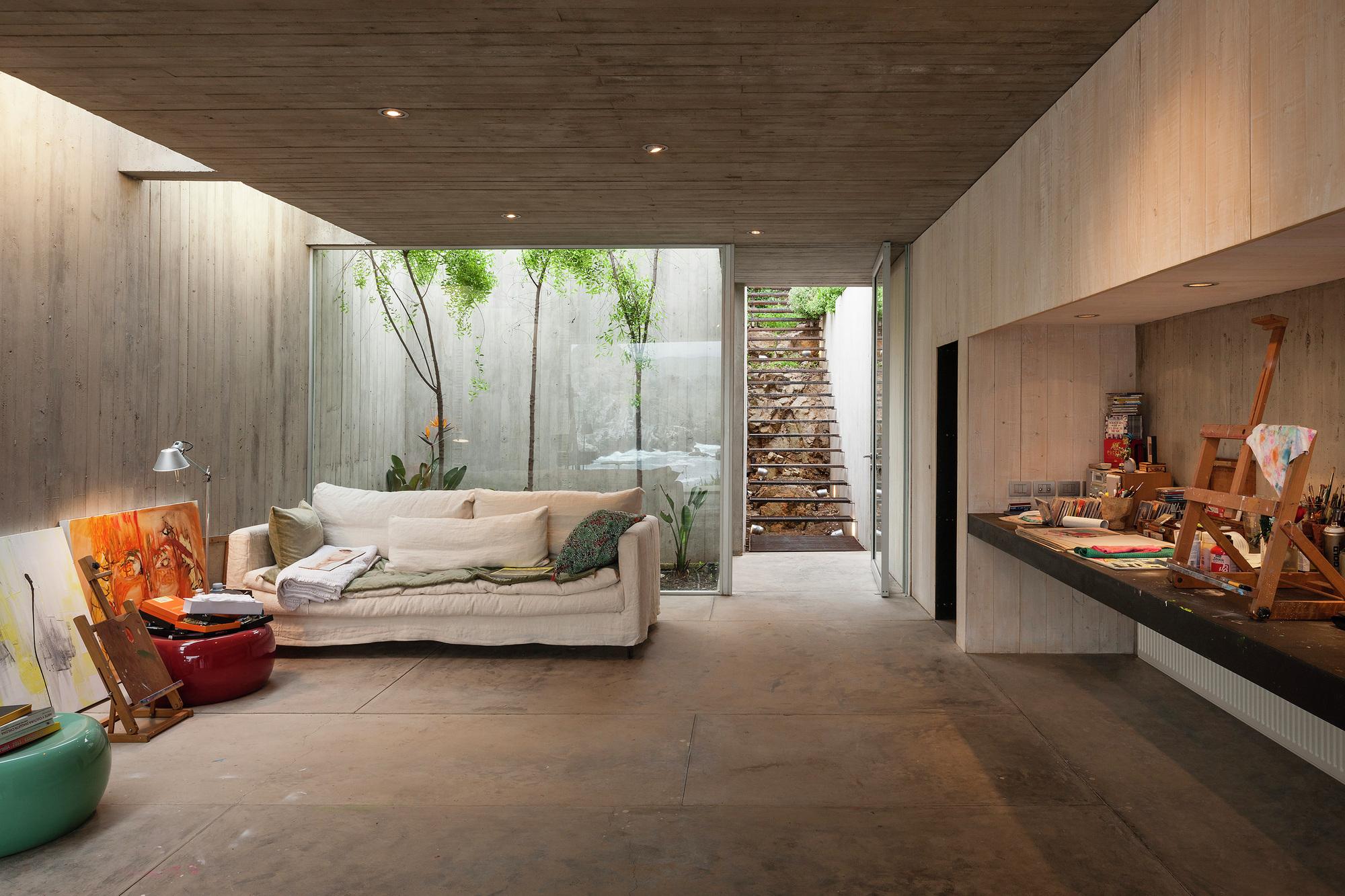 Artist Strudio Living Room