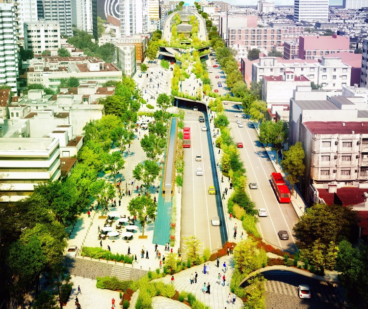 FR-EE Proposes to Restore Mexico City Avenue with Cultural Corridor Chapultepec, © FR-EE / Fernando Romero EnterprisE